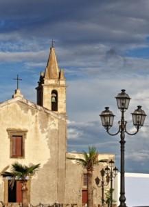 Kirke på Lipari.